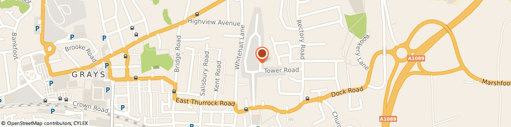 Route/map/directions to Mightymast Leisure Ltd., RM17 6ST Grays, UNIT 5/GLOBE INDUSTRIAL ESTATE, RECTORY ROAD