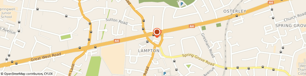Route/map/directions to Park Grand London Heathrow, TW5 0BU Hounslow, 449 Great West Road