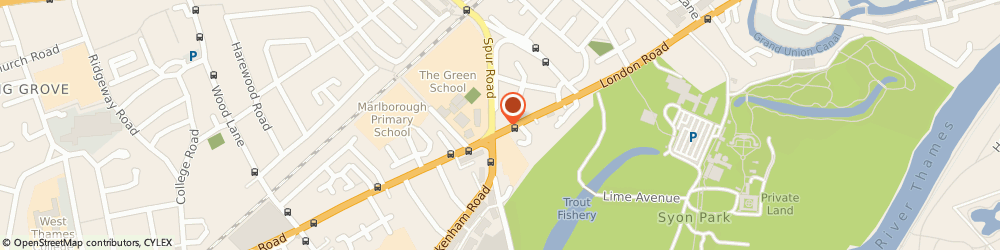 Route/map/directions to Hounslow Funeral Directors, TW7 5BG Isleworth, Busch Corner