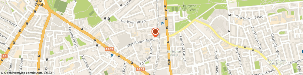 Route/map/directions to Emu Insurance & Mortgage Brokers Limited, SE5 0UH London, 40 Wyndham Road