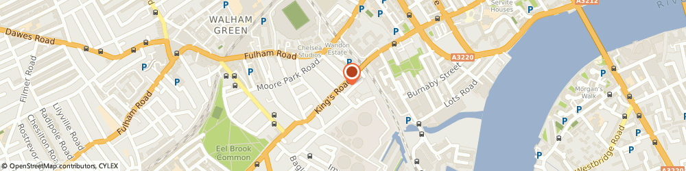 Route/map/directions to George Smith, SW6 2EH London, 587 - 589 Kings Road