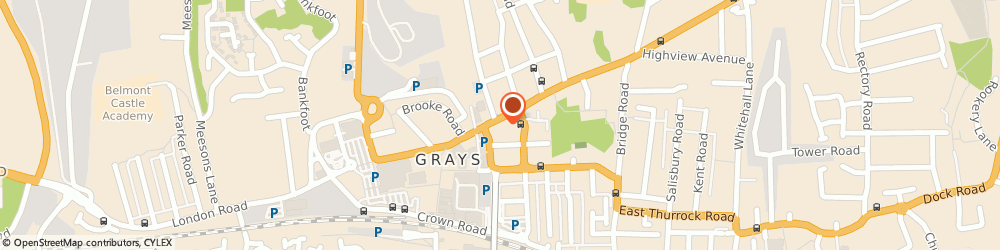 Route/map/directions to MURRAIL ENGINEERING LIMITED, RM17 5ED Grays, 44/54 Orsett Road