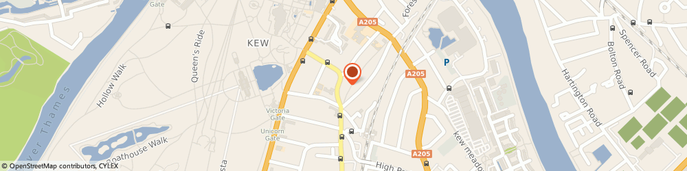 Route/map/directions to A L Plumbing & Heating, TW9 3HG Richmond, 16 Kew Gardens Rd