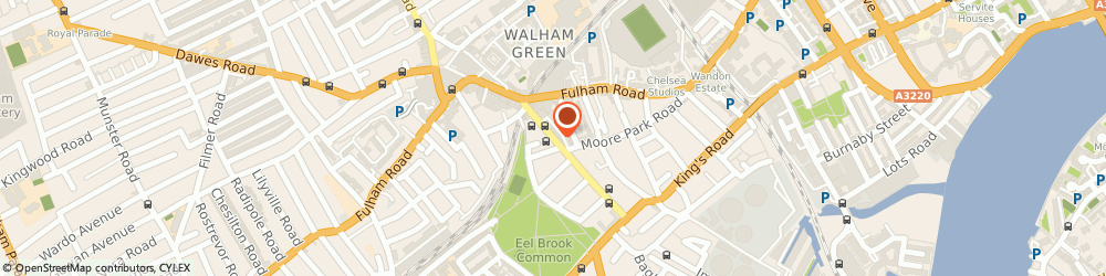 Route/map/directions to Hall Insurance Services Ltd, SW6 4QP London, 37 Harwood Road