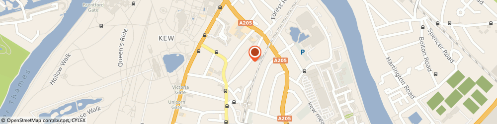Route/map/directions to Lanista Partners Limited, TW9 3HB Richmond, 45 LEYBORNE PARK