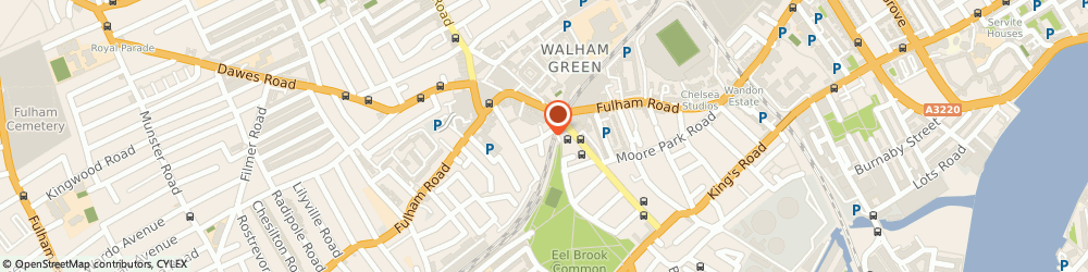 Route/map/directions to FAM Clothing, SW6 1TB London, 8 Effie Road