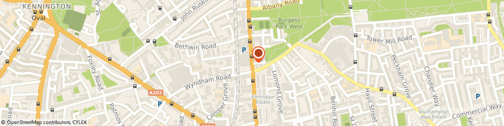 Route/map/directions to Mobile Phone World Ltd., SE5 8TR London, 1-3, CAMBERWELL CHURCH STREET