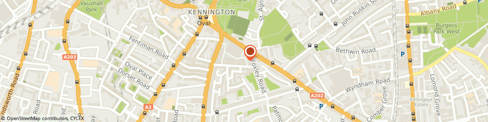 Route/map/directions to Alison Price & Co, SW9 6EJ London, 5A Cranmer Rd, Norfolk House
