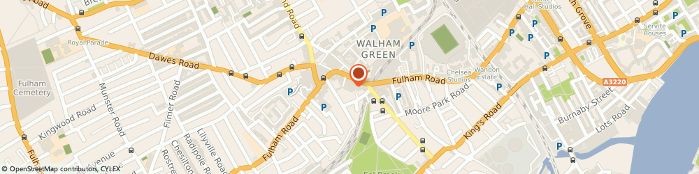 Route/map/directions to Access Storage Centres Ltd, W13 0AS London, 21 EFFIE ROAD