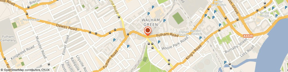 Route/map/directions to We Buy Any Car, SW6 1EN London, Office 7000, Access Self Storage 21 Effie Road Fulham Broadway