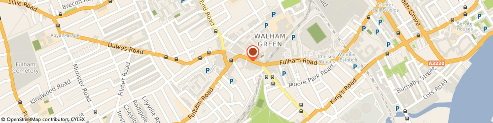 Route/map/directions to Pass Software Limited, SW6 1BJ London, 2 Argon Mews