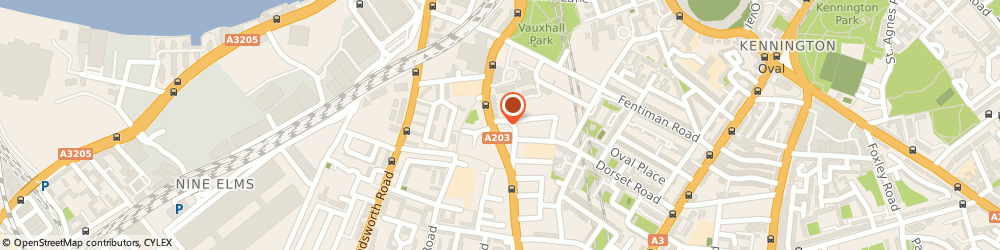 Route/map/directions to Galaxy in-Car Entertainment, SW8 1QU London, 95 VICTORIA MANSIONS, SOUTH LAMBETH ROAD