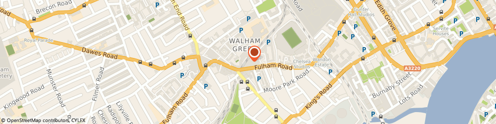 Route/map/directions to Admir Services Ltd, SW10 0RB London, 3 Blore House Coleridge Gardens