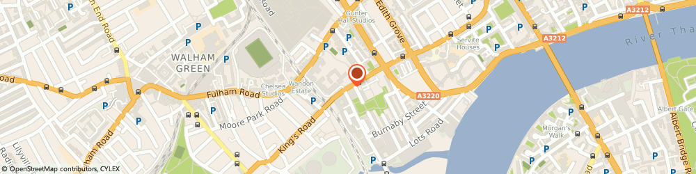 Route/map/directions to Blaiz UK, SW10 0RN London, 227-229 Kings Road