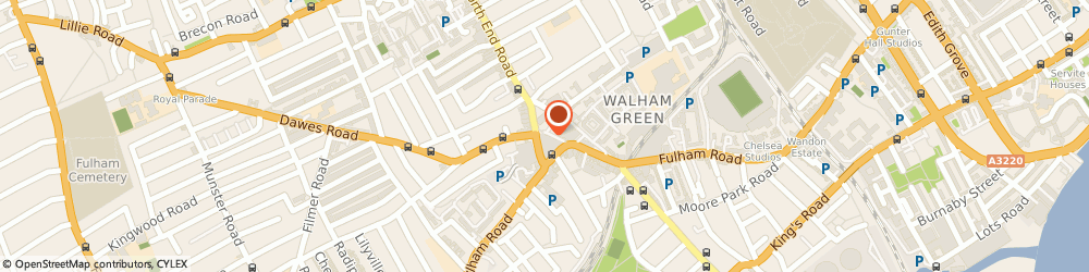 Route/map/directions to Love Walk Cafe, SW6 1BH London, 12 Jerdan Pl