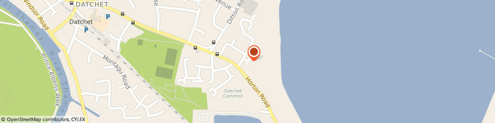 Route/map/directions to Amptec Electrical Ltd, SL3 9HS Datchet, 35, Penn Rd