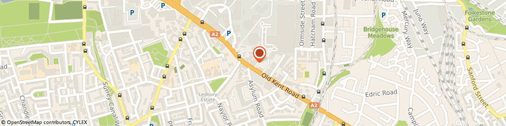 Route/map/directions to Safestore Self Storage New Cross, SE15 1JL London, 737 Old Kent Road