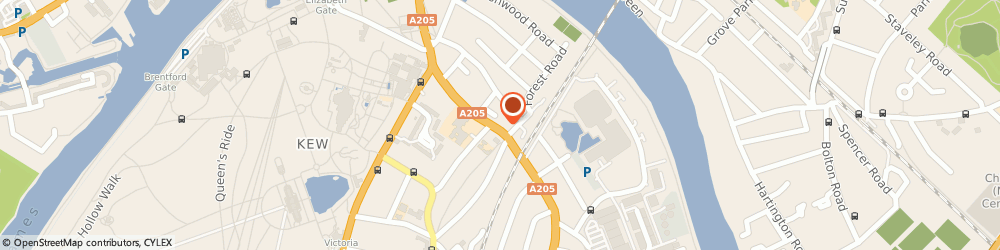 Route/map/directions to Ripe Strategic Limited, TW9 3JQ Richmond, 37 Mortlake Road