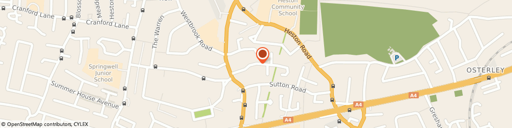 Route/map/directions to London Collections, TW5 0PY Hounslow, 44 Sutton Hall Road