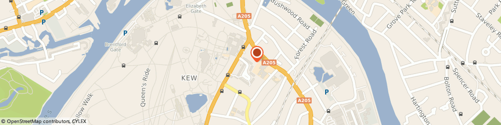 Route/map/directions to Lowe Azure Ltd, TW9 2NA Richmond, SOVEREIGN GATE, 18-20 KEW ROAD