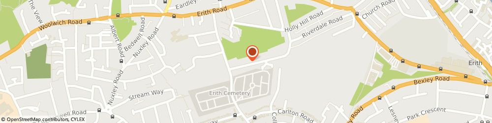 Route/map/directions to Cutlers Developments, DA8 1QE Erith, 244B Riverdale Road
