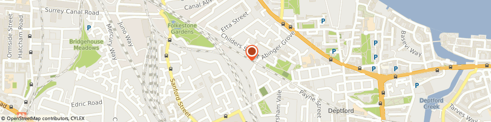 Route/map/directions to Technical Refresh Ltd, SE14 6EB London, ARKLOW ROAD, GROUND FLOOR, ASTRA HOUSE
