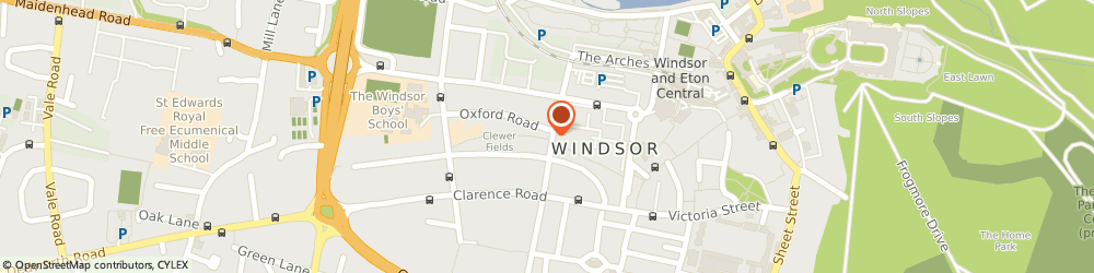 Route/map/directions to UPS Solutions Logistics, SL4 3HW Windsor, Alma Road 29