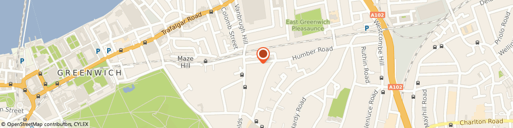 Route/map/directions to Bentinck Portfolio Services Limited, SE3 7LT London, 46 HUMBER ROAD