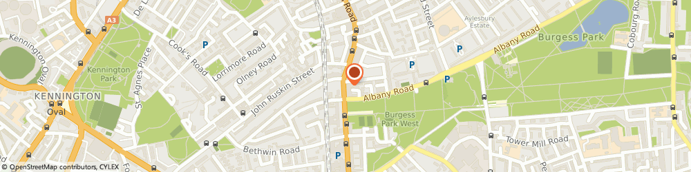 Route/map/directions to White Hall Clothiers Camberwell, SE5 0EZ London, 77 Camberwell Road