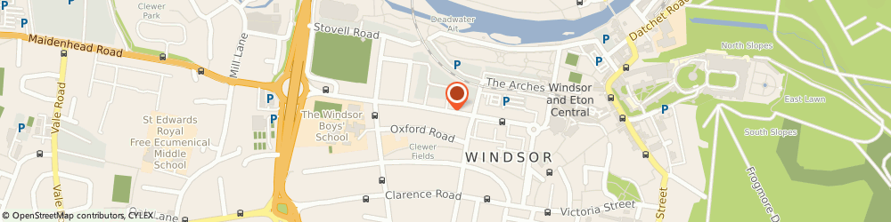 Route/map/directions to System Solutions, SL4 1RU Windsor, 119 ARTHUR RD