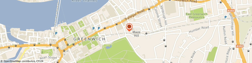 Route/map/directions to Maze Hill Rail Station London, SE10 9XG London, 5 LEMMON RD LONDON, GREATER LONDON SE10 9XR 35 FT NW