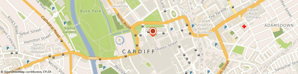 Route/map/directions to Allianz Cardiff, CF10 3AG Cardiff, Floor 15, Capital Tower, Greyfriars Road