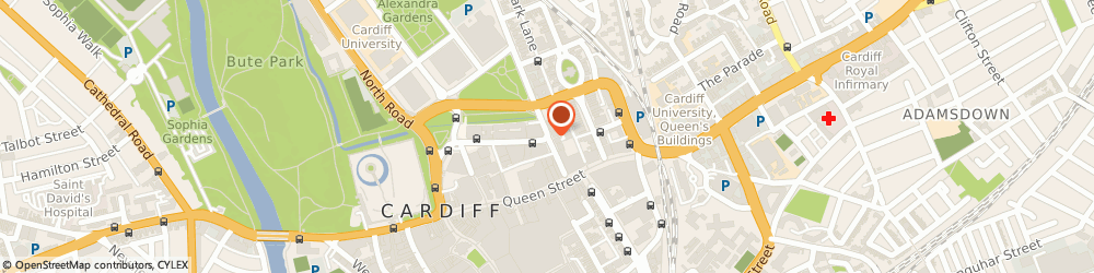 Route/map/directions to The Mediation Practice Ltd, CF10 3DP Cardiff, 9 Park Place