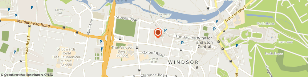 Route/map/directions to UPS Solutions Logistics, SL4 1SE Windsor, S K House, 143E Arthur Road