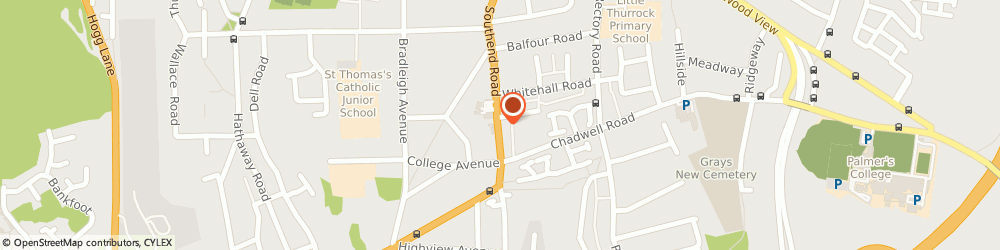 Route/map/directions to Balloon Inspirations, RM17 5NH Grays, 37, SOUTHEND ROAD