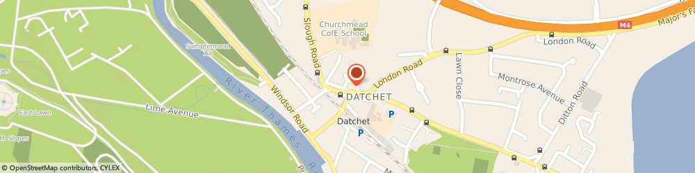 Route/map/directions to The Studio Gallery, SL3 9JH Slough, Old Bank /The Green