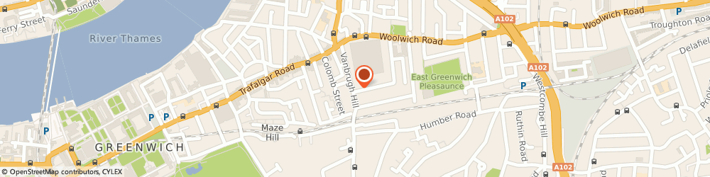 Route/map/directions to Wright Dr e, SE10 9HQ London, VANBRUGH HILL HEALTH CENTRE, VANBRUGH HILL
