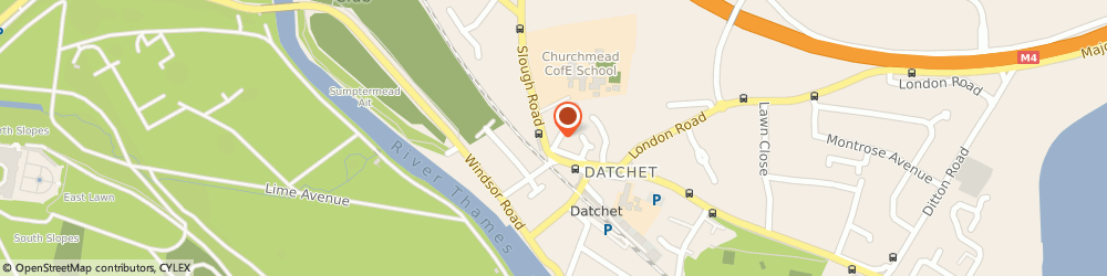 Route/map/directions to COSTA COFFEE, SL3 9BJ Datchet, The Morning Star, The Green