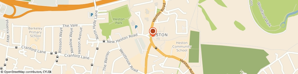 Route/map/directions to Heston Florists, TW5 0LQ Hounslow, 11 New Heston Rd
