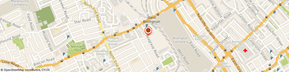 Route/map/directions to Safestore Self Storage Earls Court, SW6 1RP London, 29 Seagrave Road