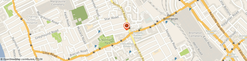 Route/map/directions to Kings Car Maintenance & Repairs, SW10 9DR London, The Garages Redcliffe St