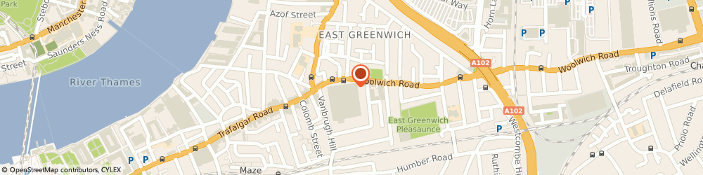Route/map/directions to Extra Help Greenwich, SE10 9FZ London, Flat 7
