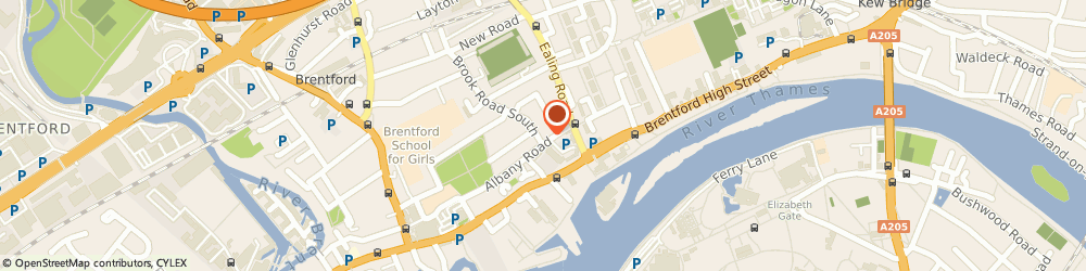 Route/map/directions to Angles Locksmith, TW8 0NN Brentford, 1, Brook Road South