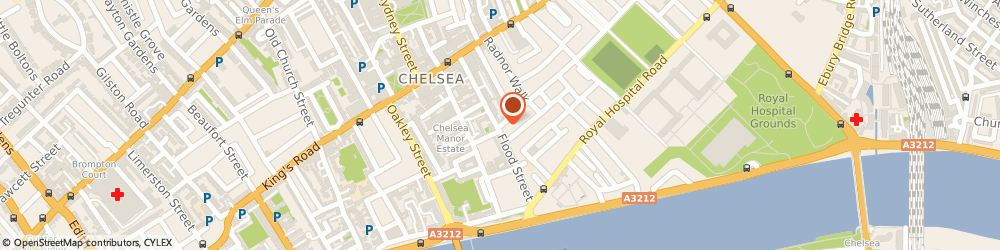 Route/map/directions to Cooper's Arms, SW3 5TB London, 87 Flood Street