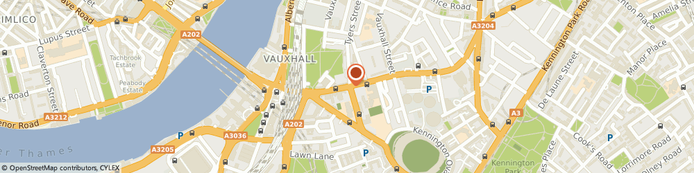Route/map/directions to Goddard Veterinary Group - London, SE11 4QE London, 351 Kennington Road