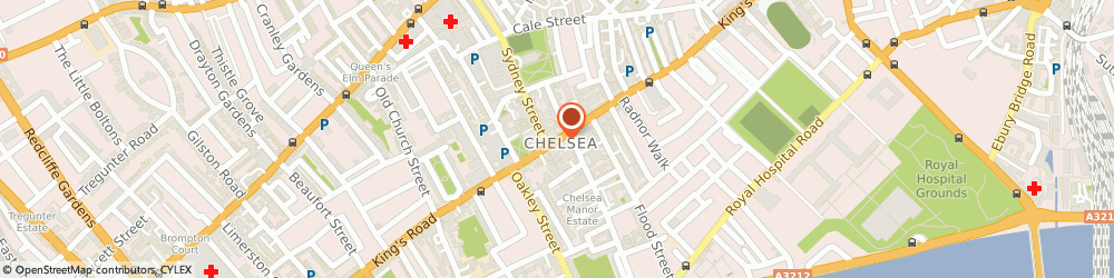 Route/map/directions to Peter Golding Associates, SW3 5UE London, 250 Kings Road