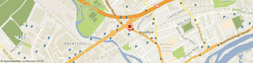 Route/map/directions to Animalcare Options Insurance, TW8 9DX Brentford, Great West House, Great West Road