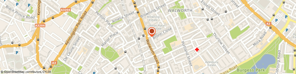 Route/map/directions to JD Sports, SE17 2TG London, 277-279 Walworth Rd
