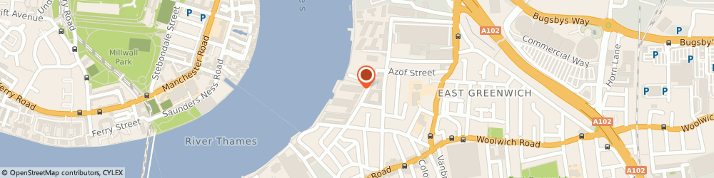 Route/map/directions to Prentice Consulting Ltd, SE10 0TY London, 54 Wyndham Apt, 60 River Gardens Walk
