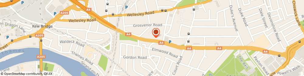 Route/map/directions to Safestore Self Storage Chiswick, W4 4LD London, 22 Sutton Lane N